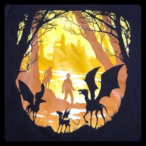 NWOT Rare Harry Potter Creatures Promo Tee